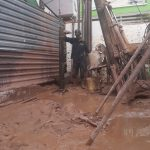 công đoạn thả ống đổ bê tông cọc khoan nhồi